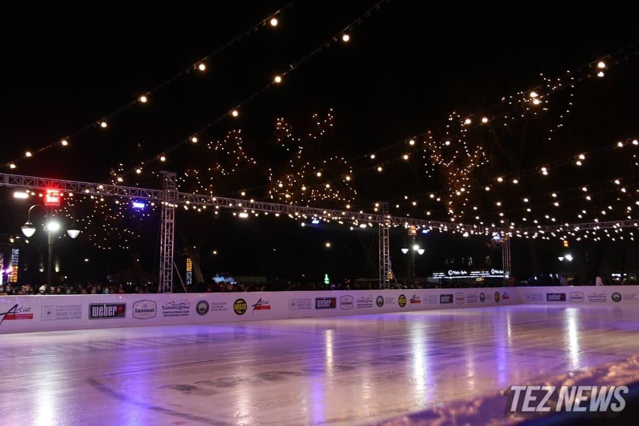 Названа сумма строительства ледового катка в Ташкенте